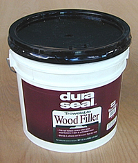 Wood putty crack filler pre finish full trowelable filler for Wood floor crack filler