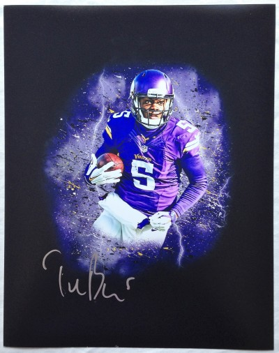 new product 4093d a8ad7 Teddy Bridgewater Minnesota Vikings Autographed / Signed ...