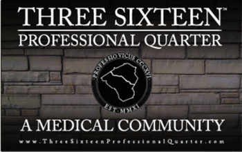 <B>THREE SIXTEEN PROFESSIONAL QUARTER</B>